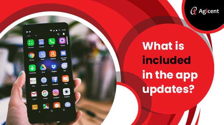 What is included in the app updates
