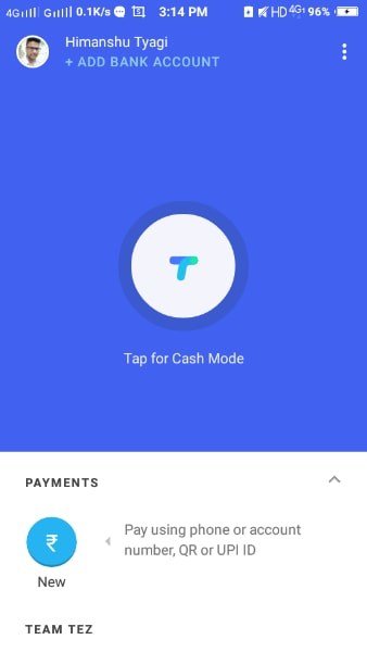 google tez app review