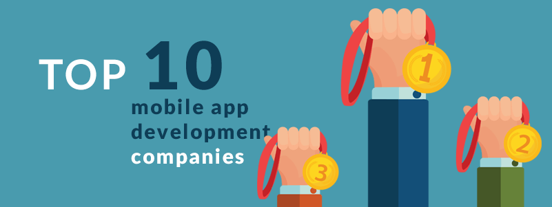 list of Top 10 mobile app development companies in India.