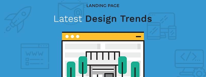 latest landing page design trends 2018