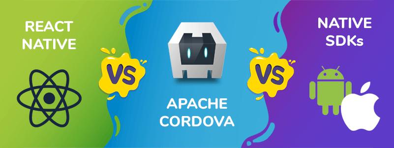 React Native vs Cordova vs Native app development