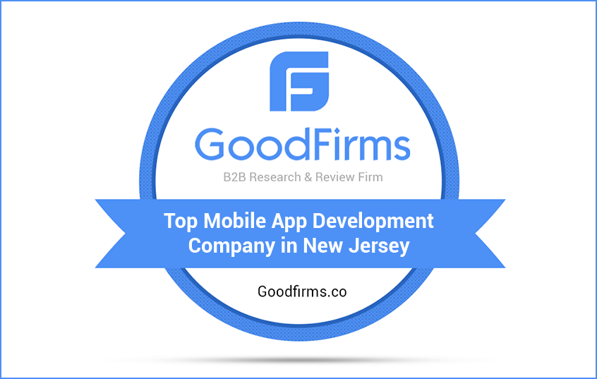top app development company in New Jersey goodfirms