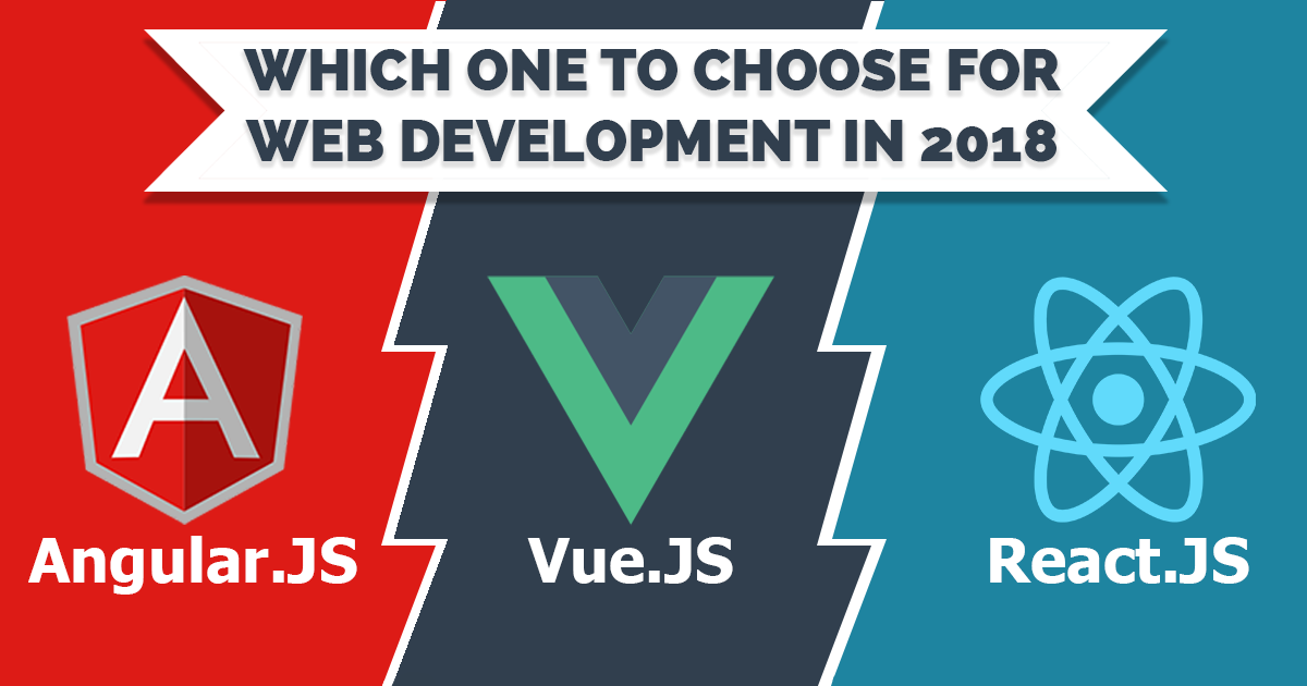 Angular.JS Vs React.JS Vs Vue.JS- Which one to choose for web development in 2018?