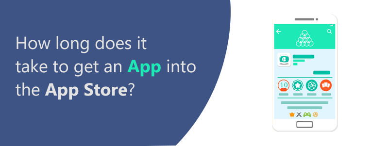 How long does it take to get an app into the app store?