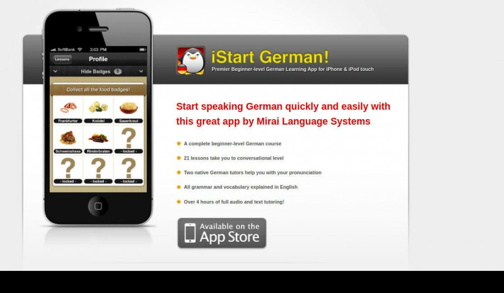 iStart German Best Deutsche Learning Apps