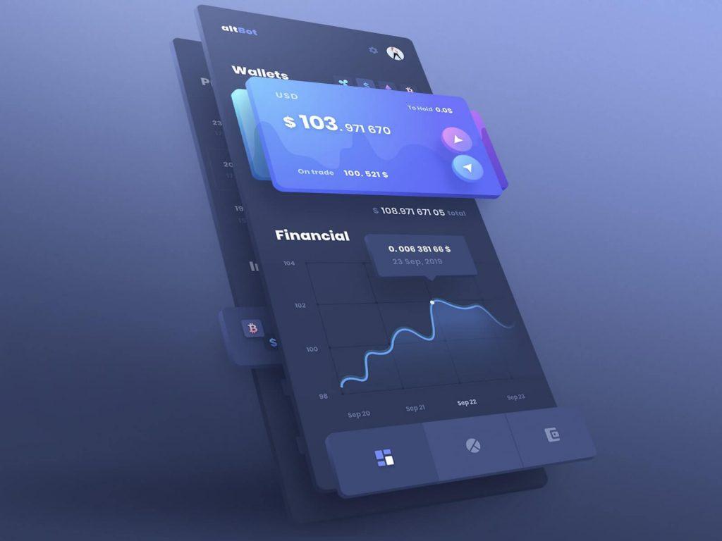 3D Design Top App Design Trends in 2020