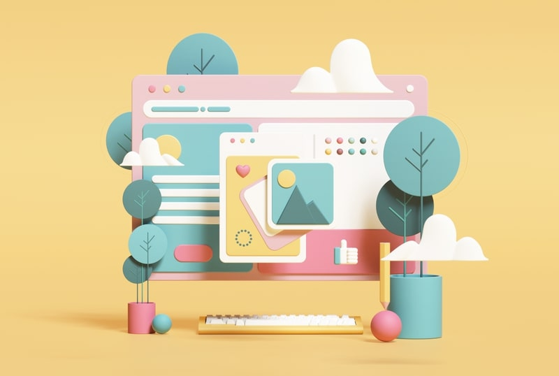 3D and Faux-3D Design Top Web Design Trends in 2020
