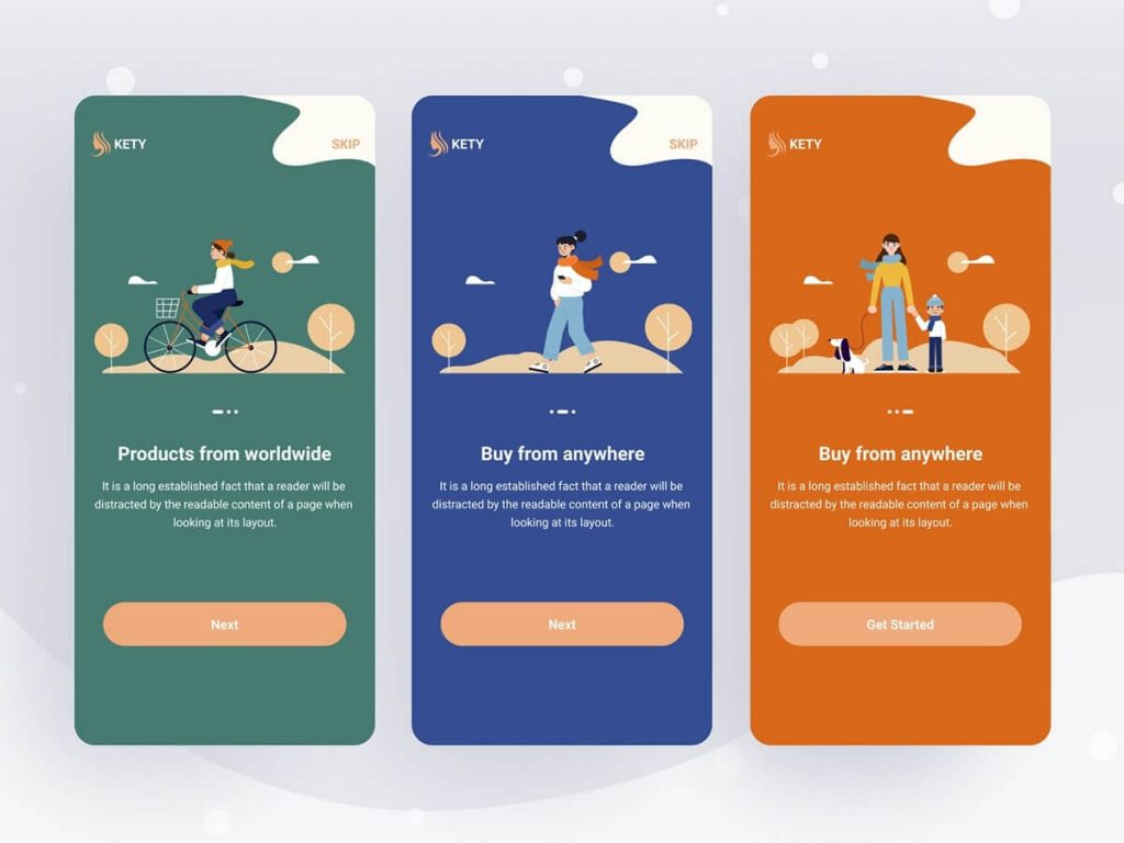 Rounded Corners Top App Design Trends in 2020
