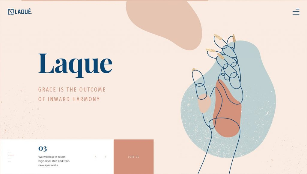 Line Art Top Web Design Trends in 2020